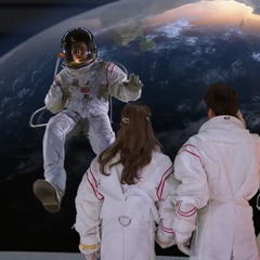 Chase and Bree seeing Adam in space
