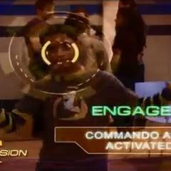 Chase's Commando App activates
