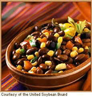 Marinated Black Soybean Salad