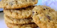 Soy Chocolate Chip Oat Coconut Cookies