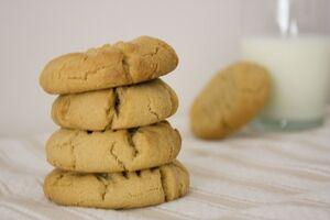 Soynut butter cookies