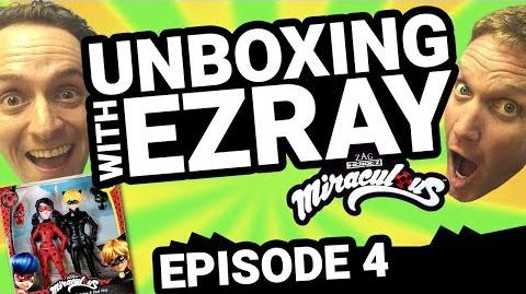 Miraculous Ladybug EZRAY Toy Unboxing Ep. 04 Tales of Ladybug & Cat Noir