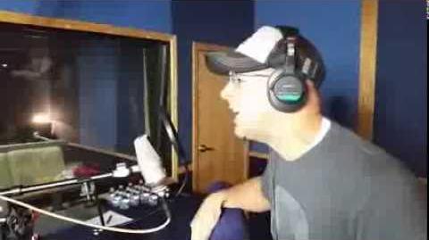 Keith Silverstein records Hawk Moth's lines