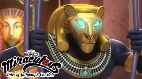 Miraculous Ladybug 🐞 The Pharaoh 🐞 Ladybug and Cat Noir Animation