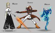 Original Quantic Team Lineup