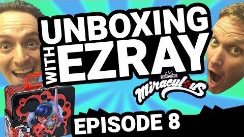 Miraculous Ladybug EZRAY Toy Unboxing Ep. 08 Tales of Ladybug & Cat Noir