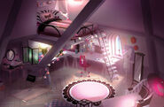 Marinette's Room 2D Concept Art