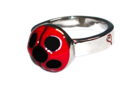 Lady Bug Silver Color Ring.png