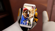 CC Adrien's phone screensaver