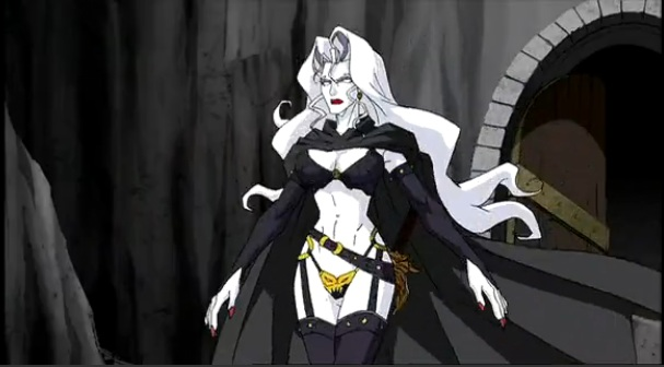 Lady death warrior outfit