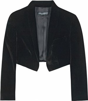 File:Dolce-and-gabbana-pre-fall-2010-velvet-bolero-jacket-profile.jpg