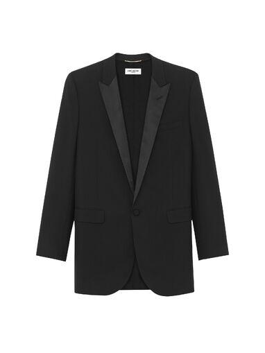 File:Saint Laurent - Iconic le smoking single breasted jacket.jpg