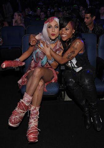 File:Gaga & Laurieann Gibson.jpg