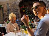 7-13-15 At La Taverna Restaurant in Perugia 001