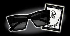 LADY GAGA FAME Glasses and Tattoo