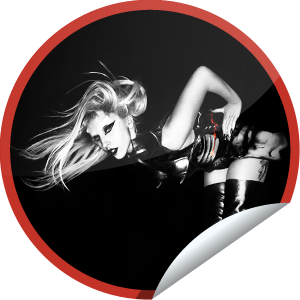 File:GetGlue Stickers - Lady Gaga Fan.png