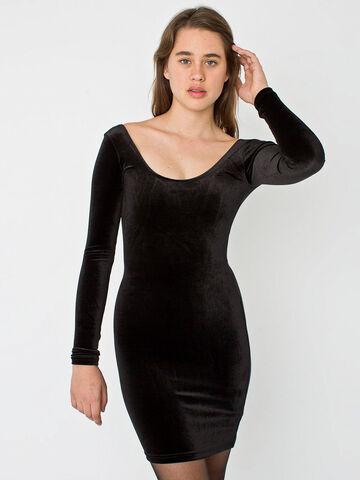 File:American Apparel - Velvet dress.jpg