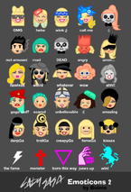 Little Monster Gaga Emoticons