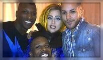 Lady Gaga and her dancers