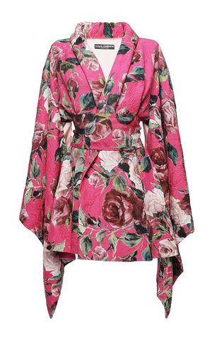 File:Dolce & Gabbana - Print floral brocade kimono coat.jpg