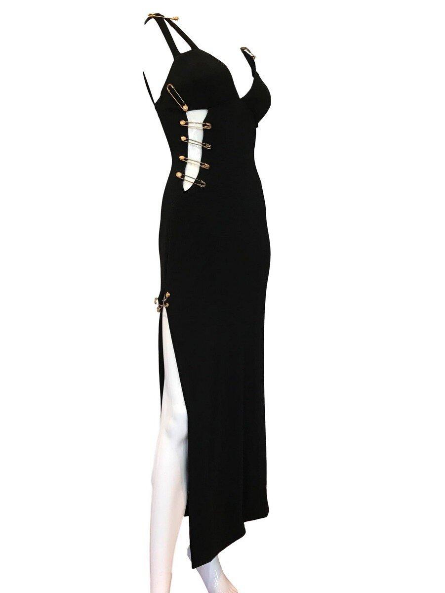 Black dress kilt 610