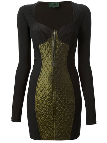 File:Jean Paul Gaultier - Bodycon quilted dress.jpeg