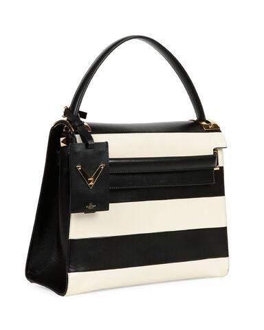 File:Valentino - My Rockstud striped flap bag.jpg