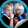 GetGlue Stickers - Lady Gaga on Ellen on 4.28.09
