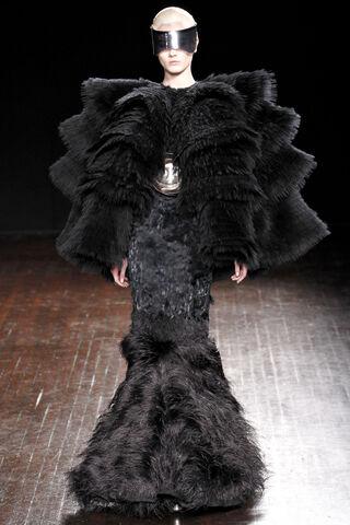 File:Alexander McQueen Fall Winter 2012 Ostrich Feather Organza Cape Jacket.jpg