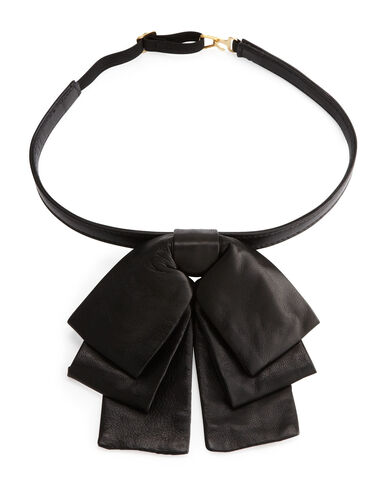 File:YSL - Leather bow collar.jpeg
