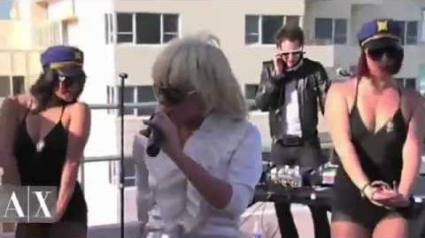 Lady Gaga - Beautiful Dirty Rich, Paparazzi, Just Dance (Winter Music Conference)