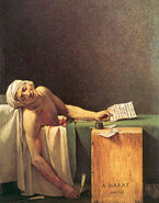La Mort de Marat by Jacques-Louis David