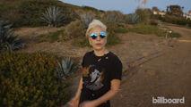 Billboard - A sunset stroll with Lady Gaga