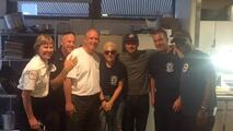 2-08-2015 with Chicago Fire Cast (2)