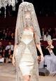 Alexander McQueen Spring 2007 Lace Dress