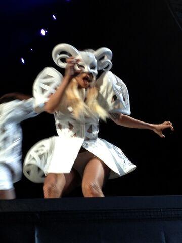 File:The Born This Way Ball Tour Bad Romance 001.jpg