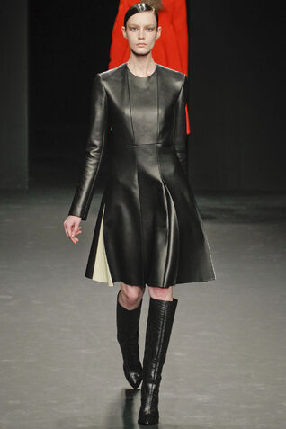 File:Calvin Klein Fall Winter 2012 Leather Dress.jpg