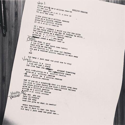 File:Million Reasons Lyric Instagram 5 10 2016.jpg