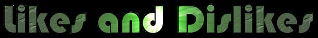 File:Likes and dislikes logo.png