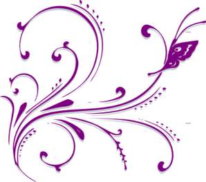Purple-butterfly-scroll-md