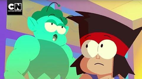 OK K.O.! Enid's Bad Day Minisode Cartoon Network
