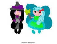 Miesha and Blue Berra