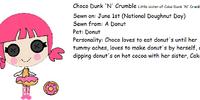Choco Dunk 'N' Crumble