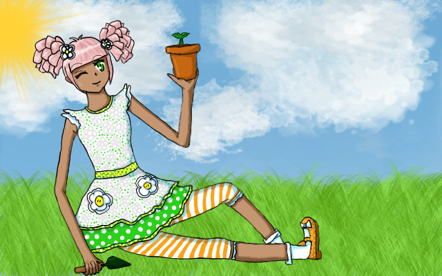 File:Blossom flowerpot by fruity bunny-d3dy9uw.png