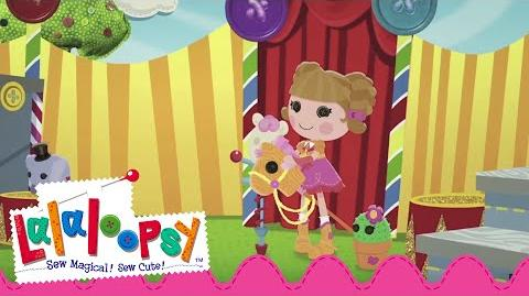 Greatest Circus-Rodeo Ever! l Prairie Dusty Trails - Sewn On Date Lalaloopsy