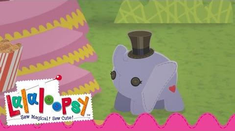 Elephant's Birthday in Festival of Sugary Sweets