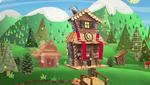Forest's log cabin