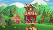 Timber Forest's house