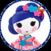 Character Portrait - Yuki Kimono