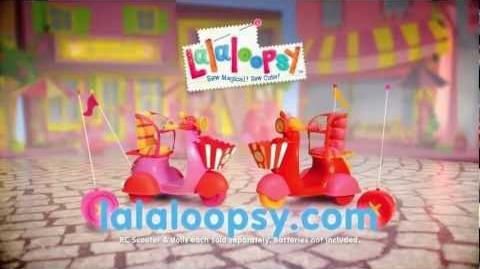 Lalaloopsy RC Scooter